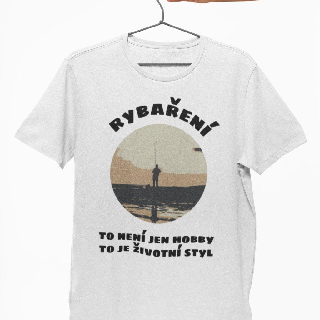 Pánské tričko Životní styl - rybaření