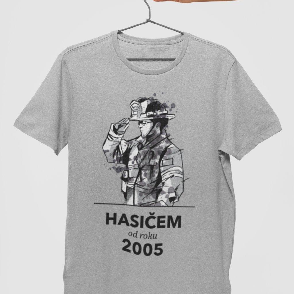 Pánské tričko Hasičem od roku... (potisk na přání)