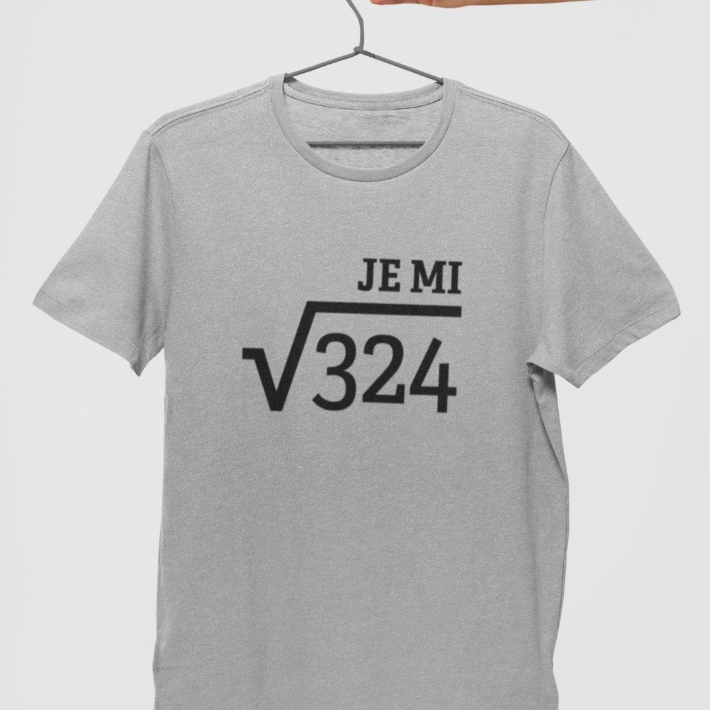 Narozeninové tričko Odmocnina
