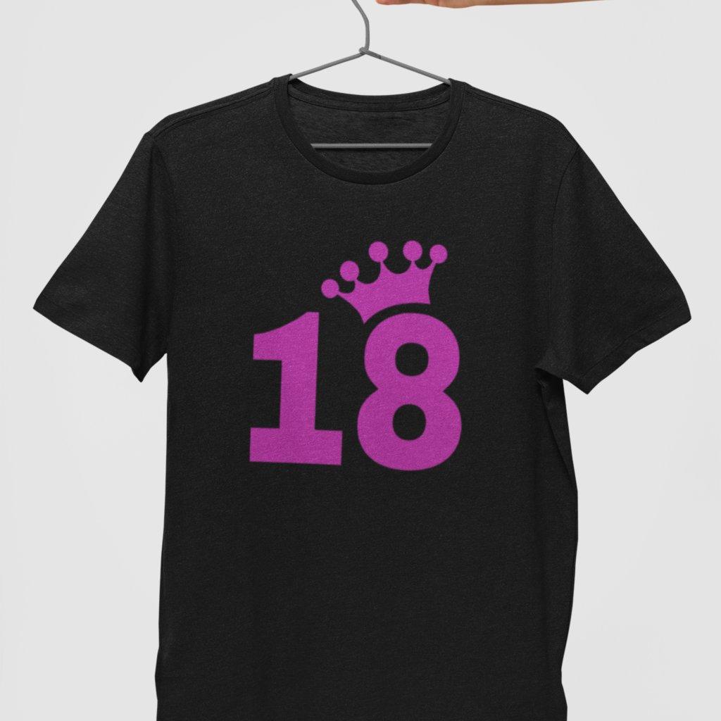 Dámské Narozeninové tričko 18 (korunka)