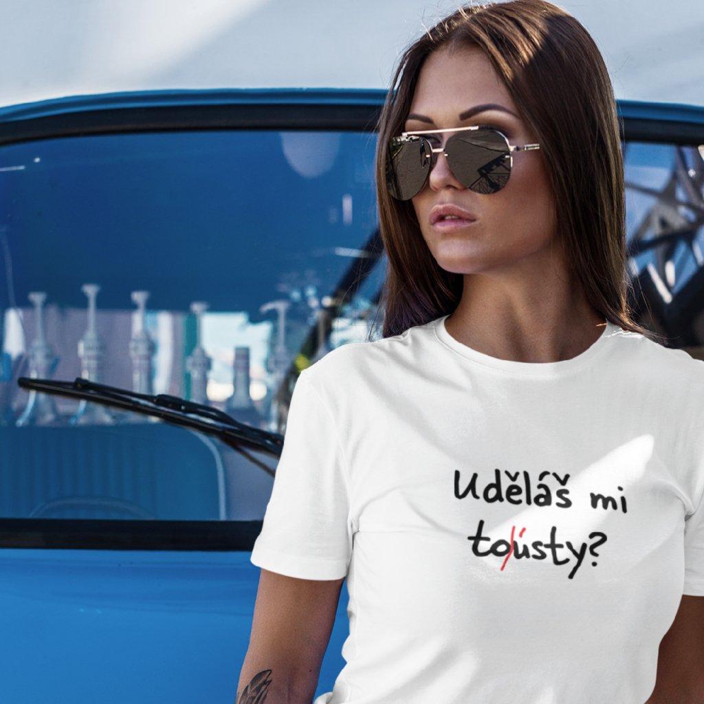 Dámské tričko Uděláš mi to/ústy