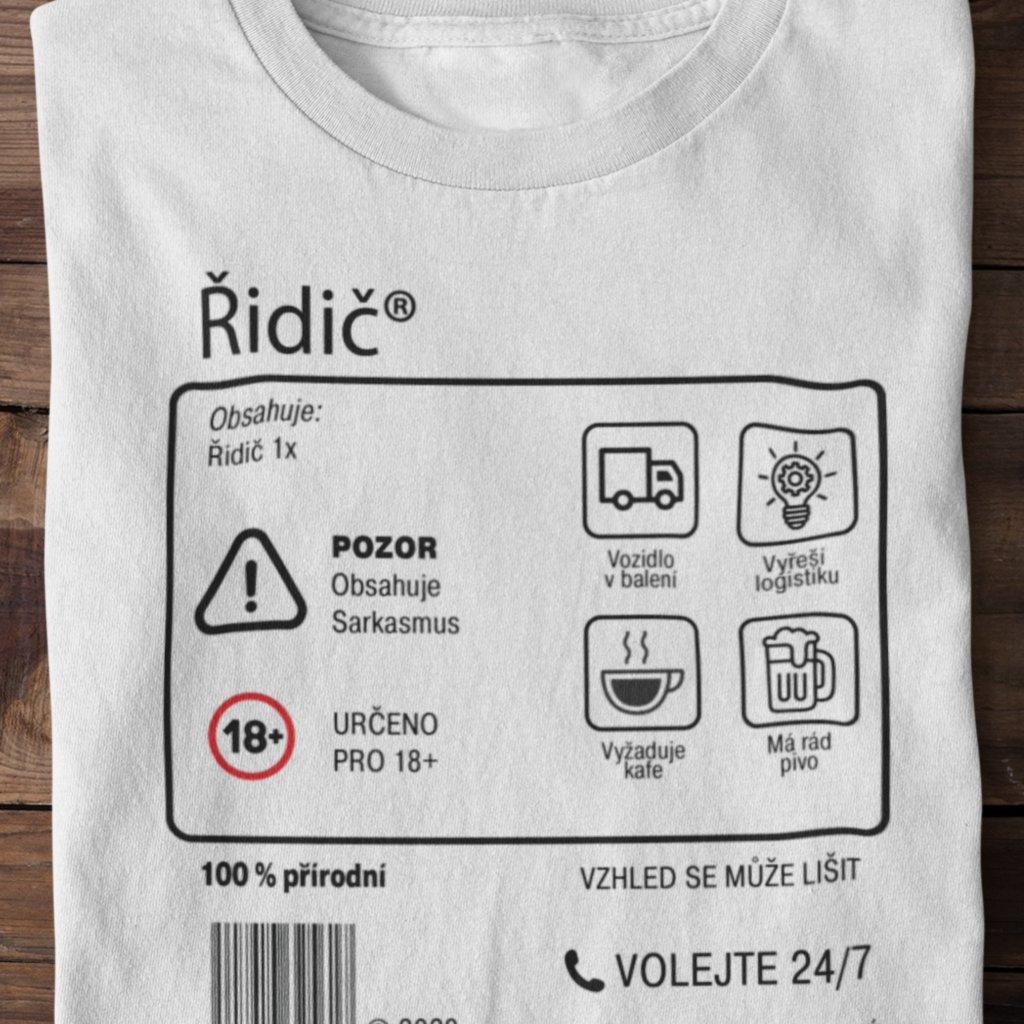 Pánské tričko Limitovaná edice - řidič