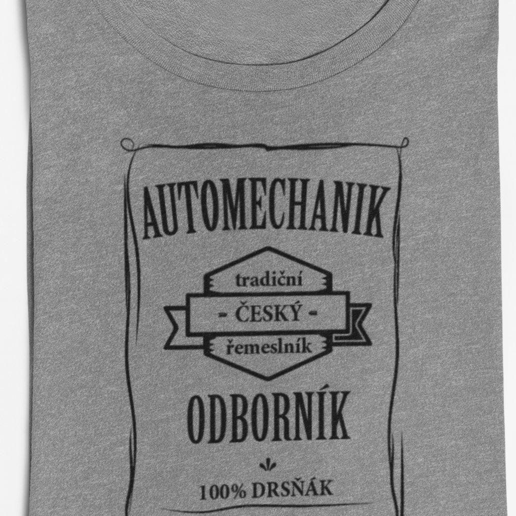 Pánské tričko Odborník - automechanik
