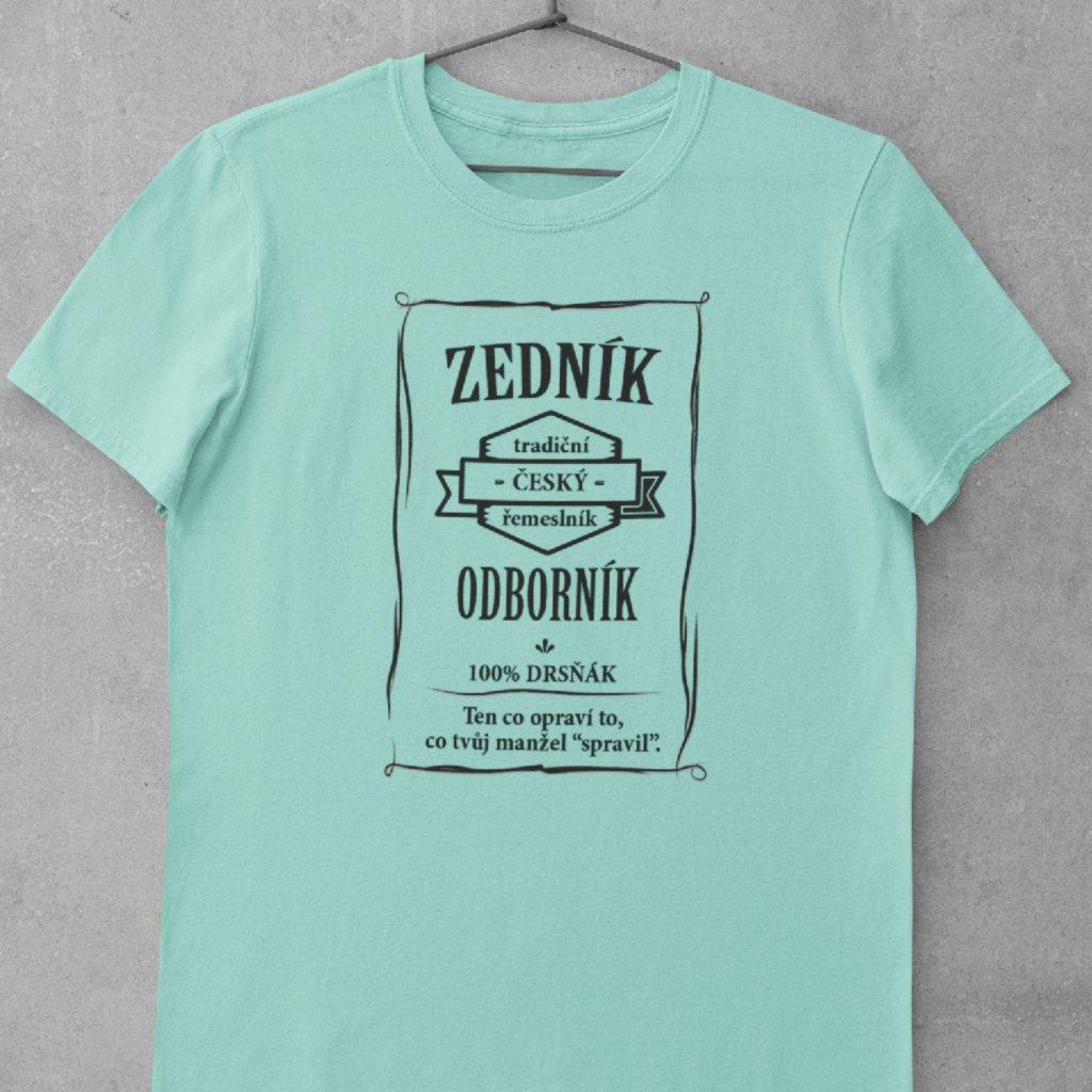 Pánské tričko Odborník - zedník