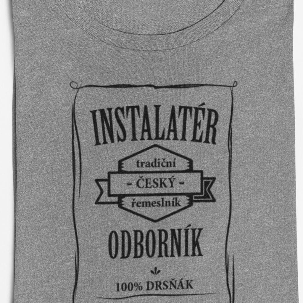 Pánské tričko Odborník - instalatér