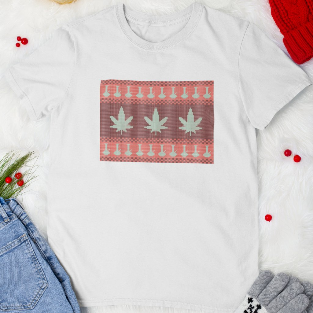 Pánské/Dámské tričko Happy ganjamas