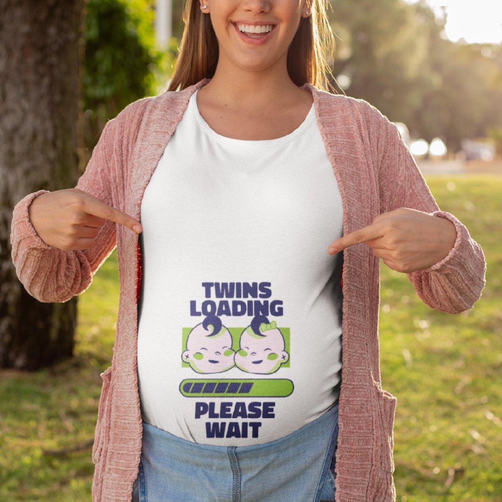 Těhotenské tričko Twins loading