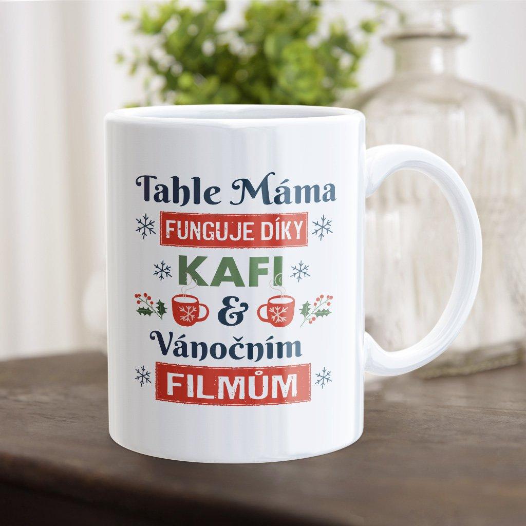 kafe a vánoční filmy