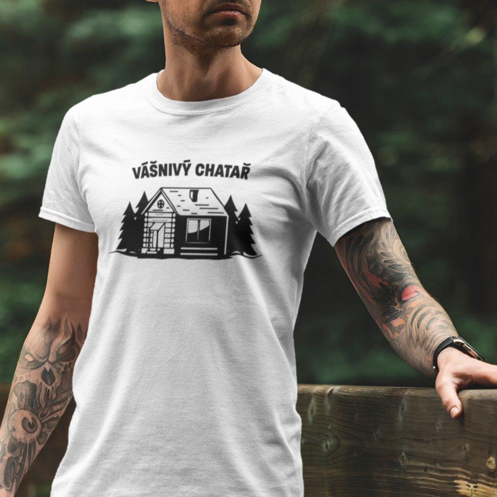 Dámské/Pánské tričko Vášnivý chatař