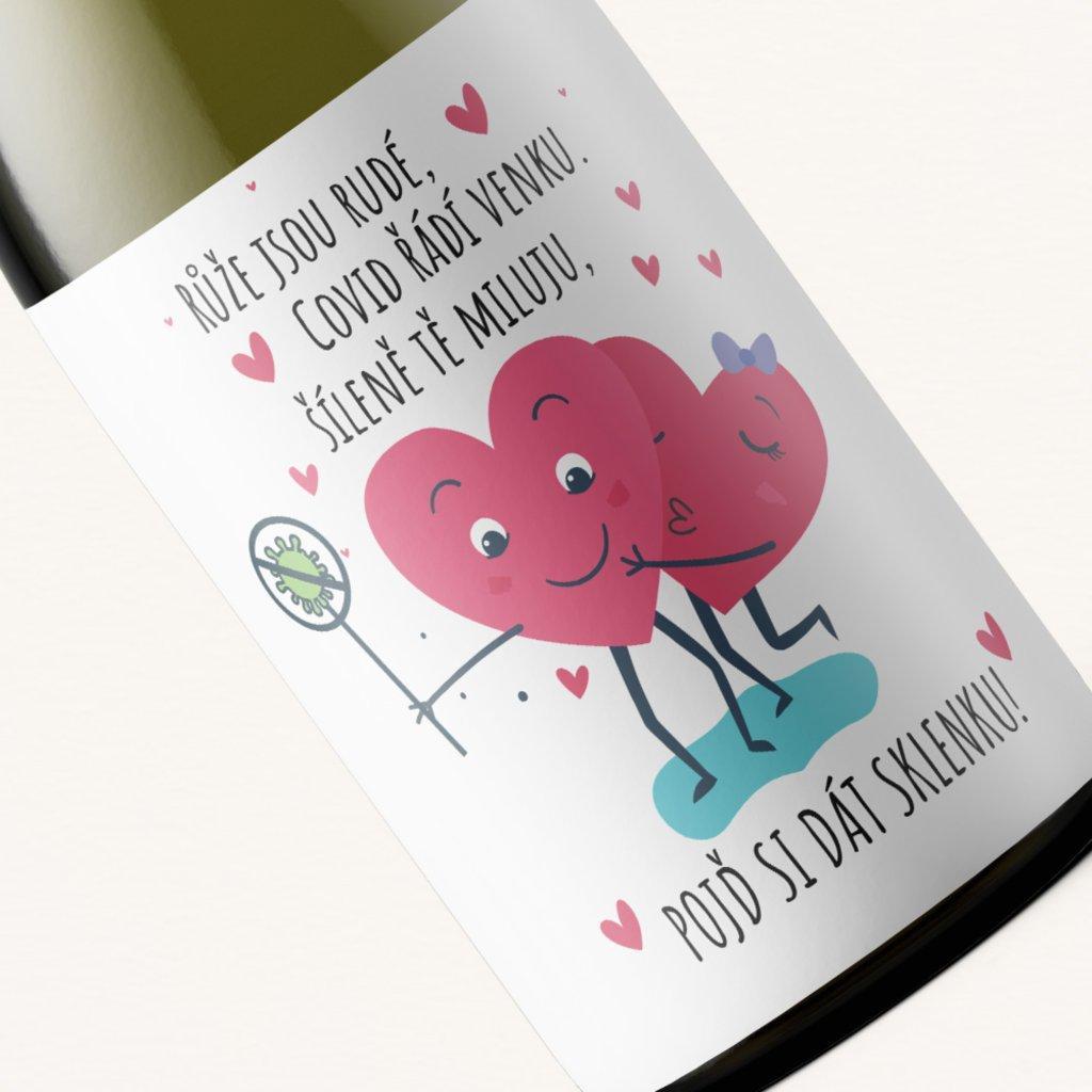 Víno Růže jsou rudé