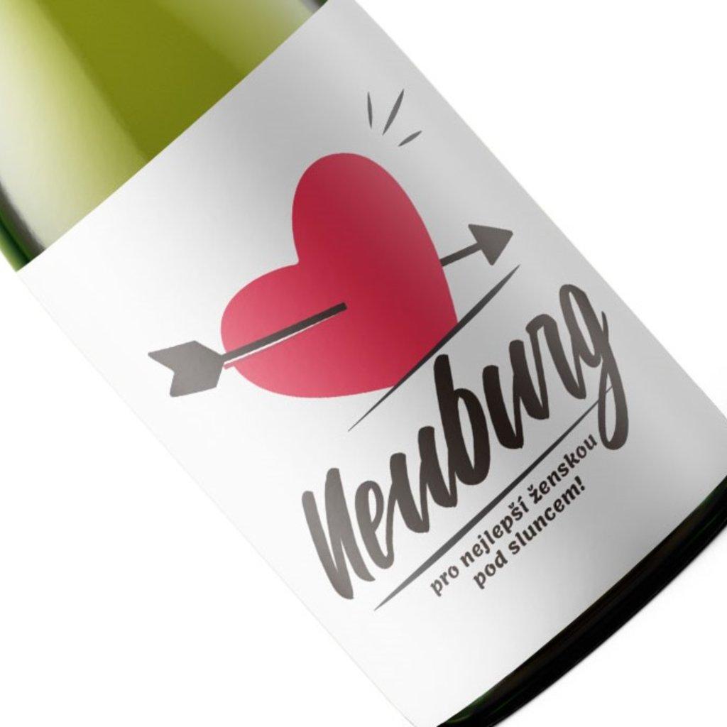 Valentýnské víno Neuburské pro nejlepší ženskou