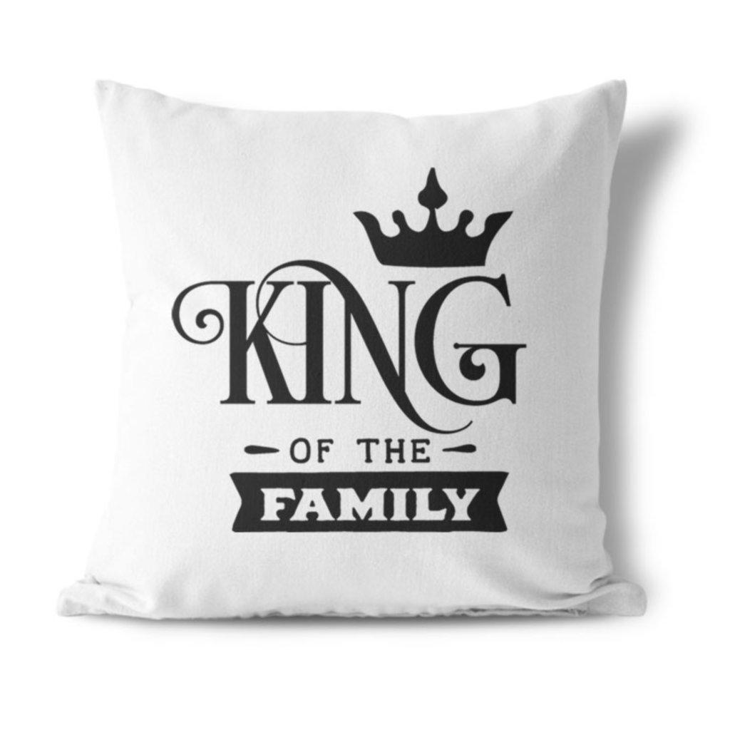 Sada polštářků King & Queen family