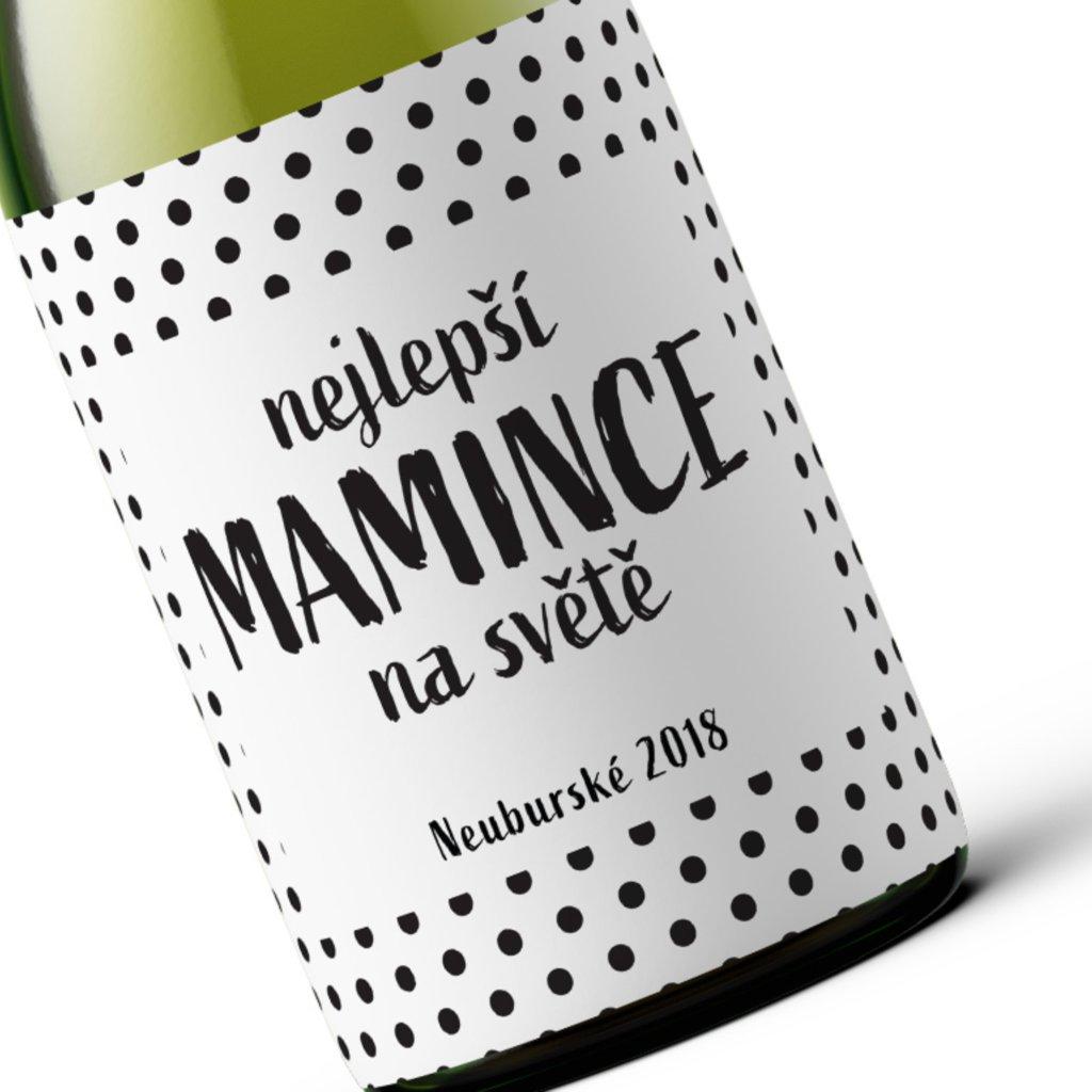 Dárkové víno Nejlepší mamince na světě