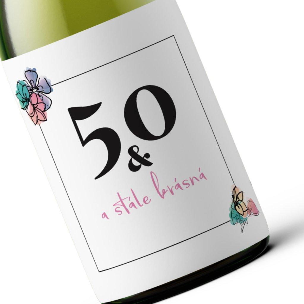 Narozeninové víno Stále krásná