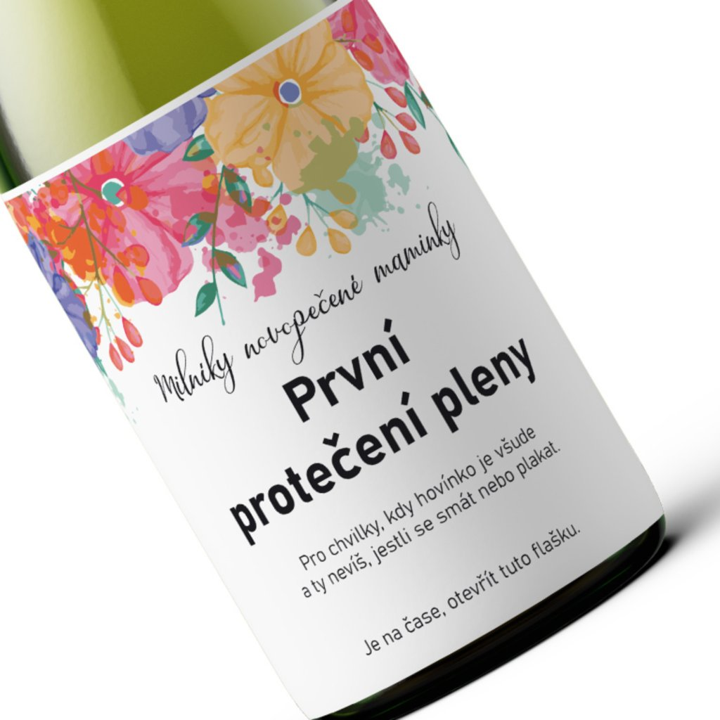 Milníkové víno První protečení pleny