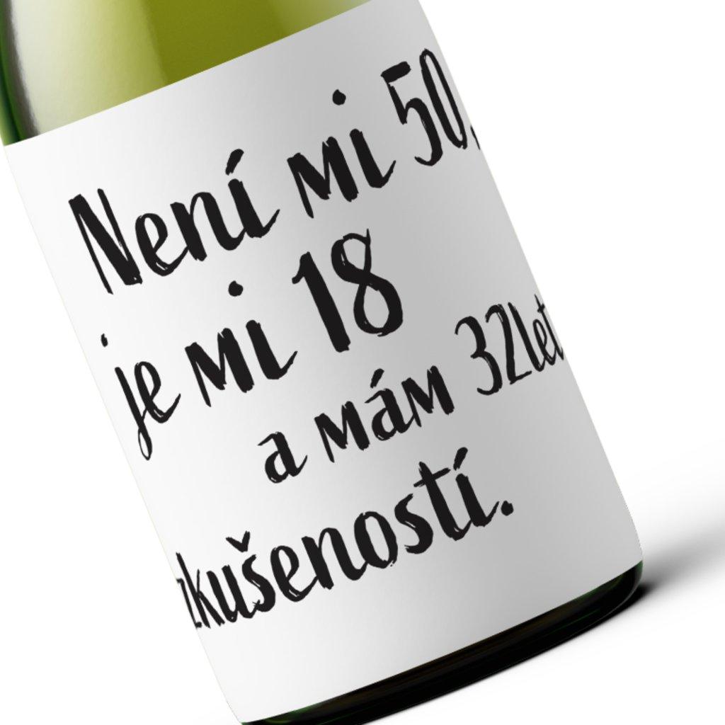 Narozeninové víno Není mi