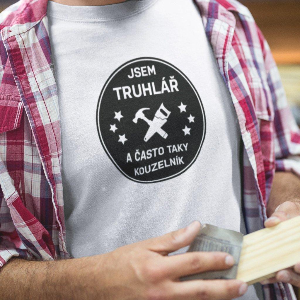Pánské tričko Truhlář kouzelník