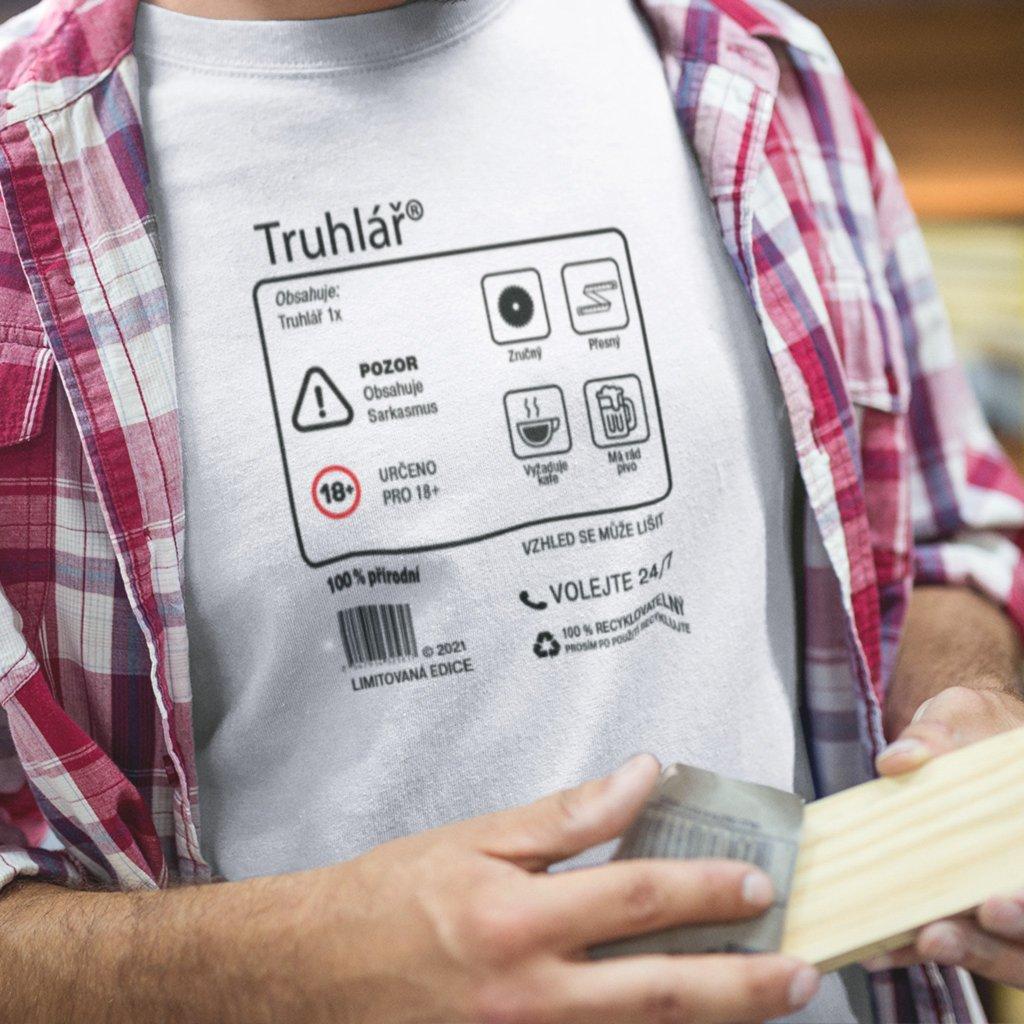Pánské tričko Limitivaná edice - truhlář