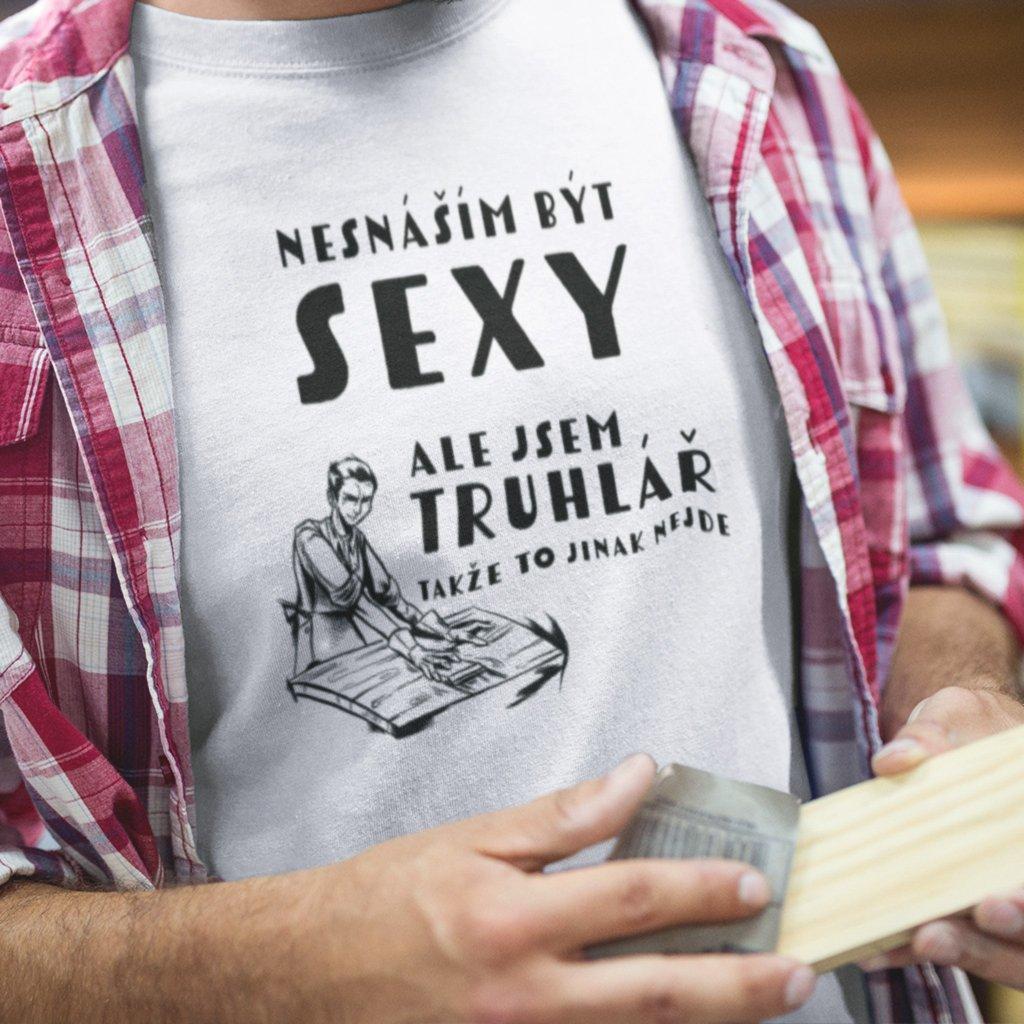 Pánské tričko Sexy truhlář