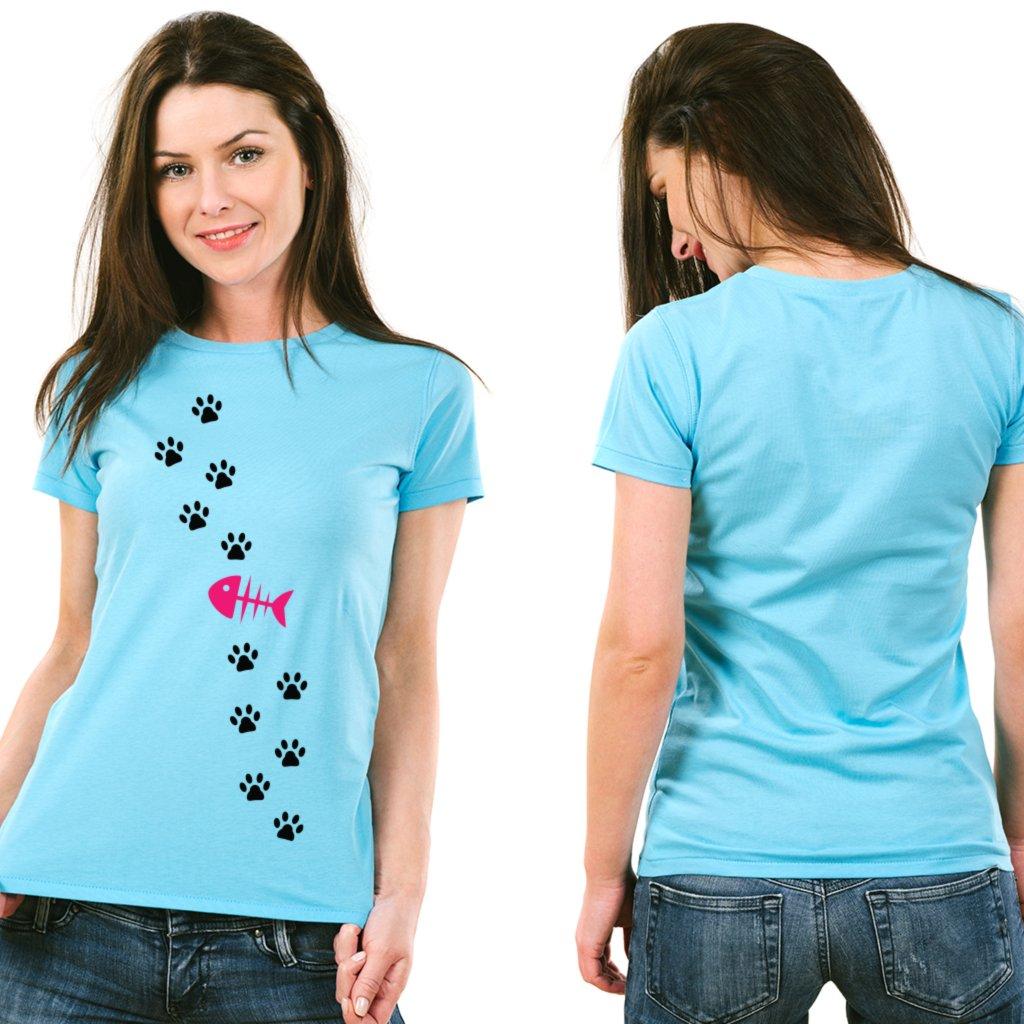 Dámské tričko Cat path