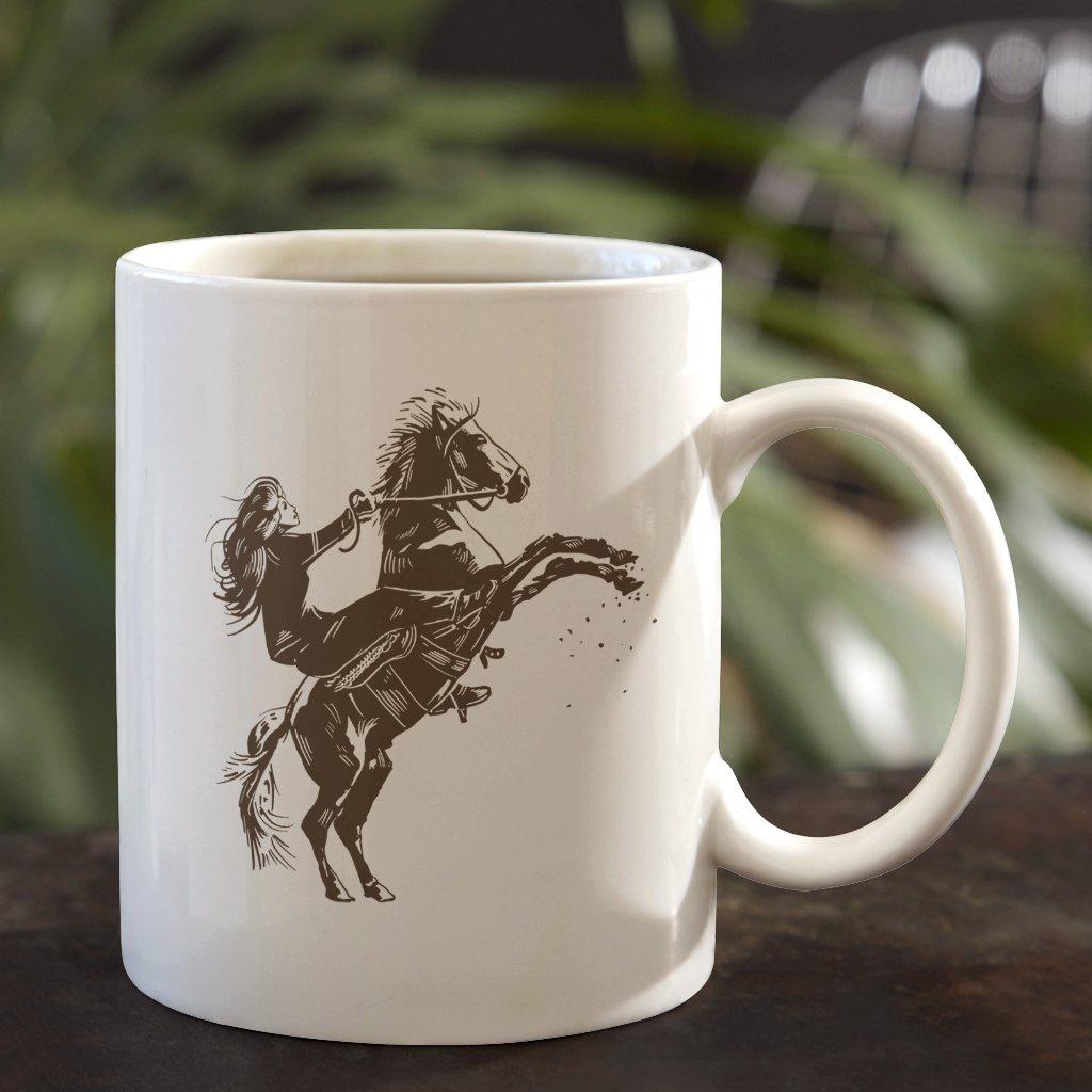 kůň na zadních