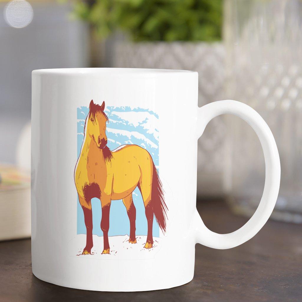 wild horse hrnek