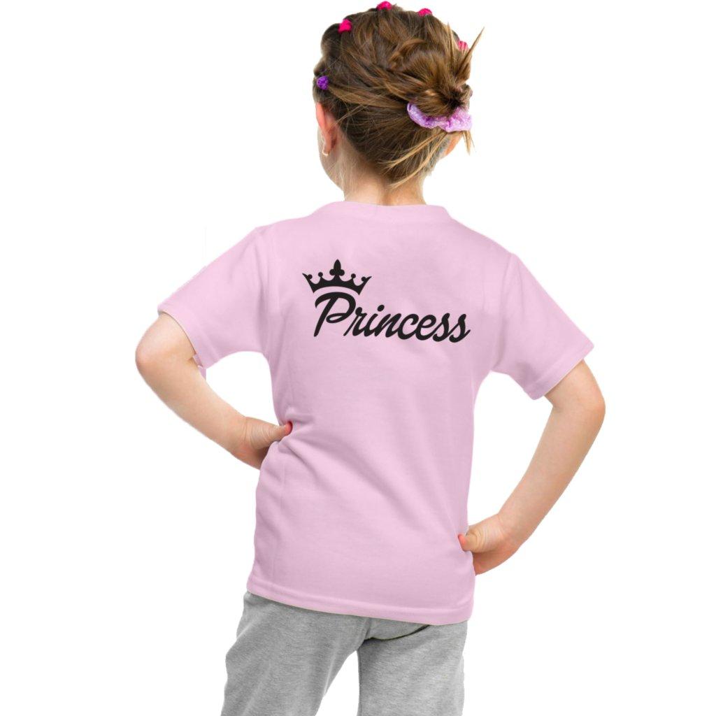 Dívčí triko PRINCESS fairy růžové