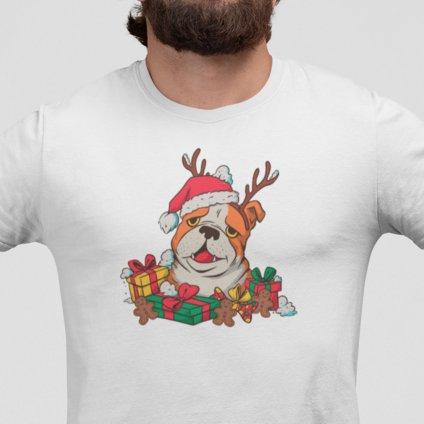 vánoční buldog