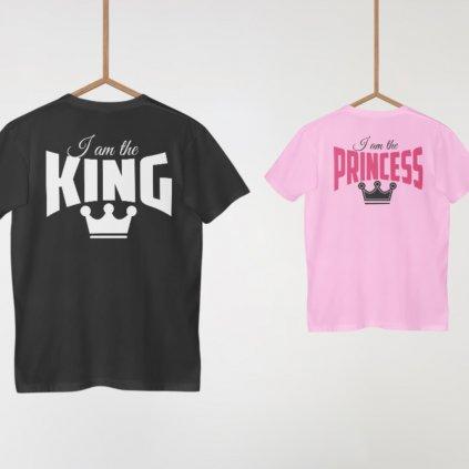 Dětské tričko I am The Princess