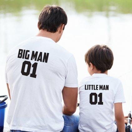 Dětské tričko Little Man 01 (potisk na záda)