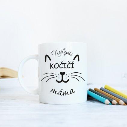 hrneček nejlepší kočičí máma