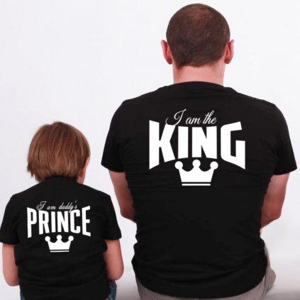 Dětské tričko I am Daddy's Prince