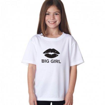Dětské tričko big girl