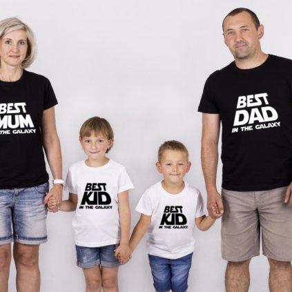 Set triček Best Family In The Galaxy