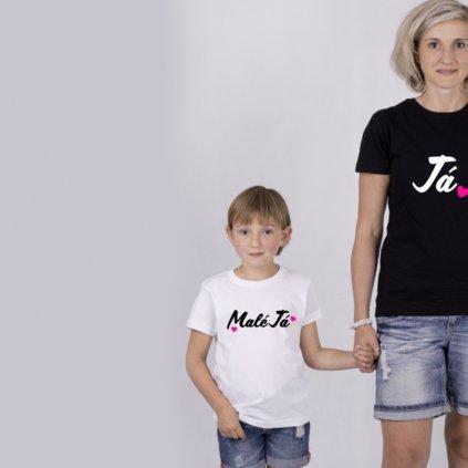 Set Já & Malé Já (cena za obě trička)