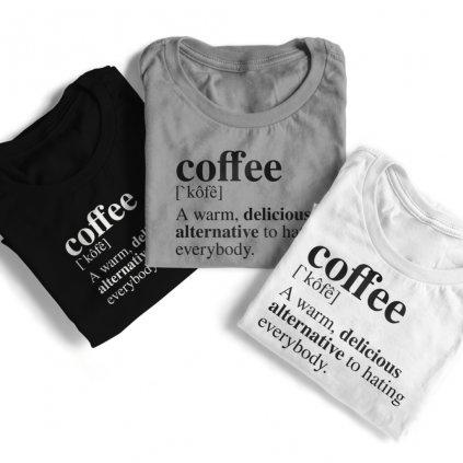 Tričko coffee