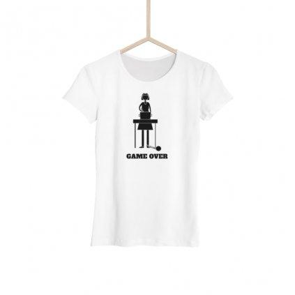 Dámské tričko - Game over nevěsta