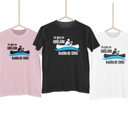 Vodácké tričko - Udělám se kolikrát chci