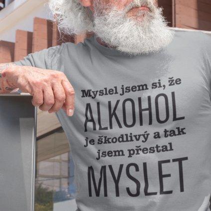 Pánské tričko Myslel jsme, že