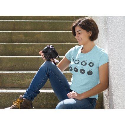 Tričko pro fotografy clona
