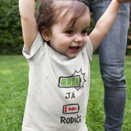 Dětské body/tričko - Baterka