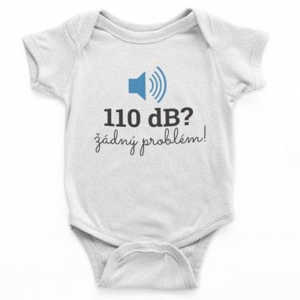 Dětské body - 110dB, žádný problém!