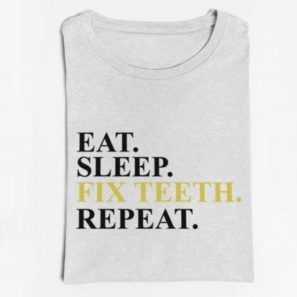 Pánské/Dámské tričko Fix teeth