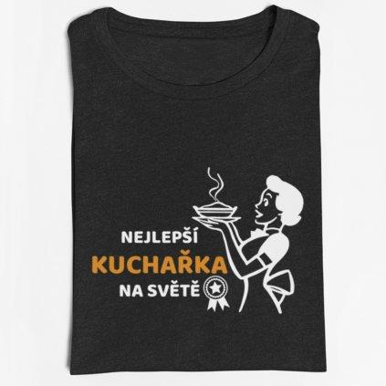 Dámské tričko Nejlepší kuchařka na světě 2