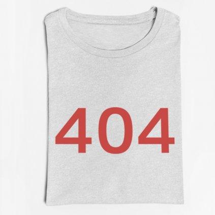 Pánské tričko eror 404