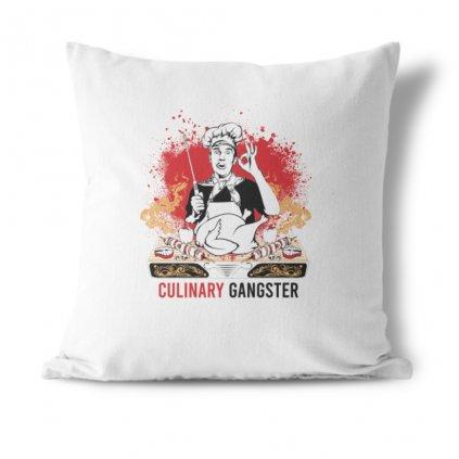 Polštářek Culinary gangster
