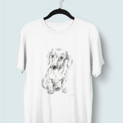 Tričko s 3D potiskem (pes 2)