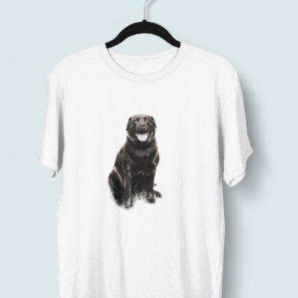 Tričko s 3D potiskem (pes 3)