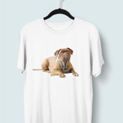 Tričko s 3D potiskem (pes 4)