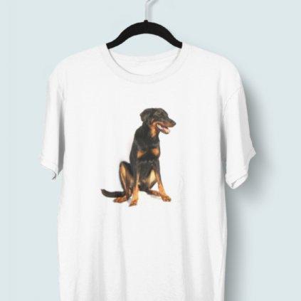 Tričko s 3D potiskem (pes 5)